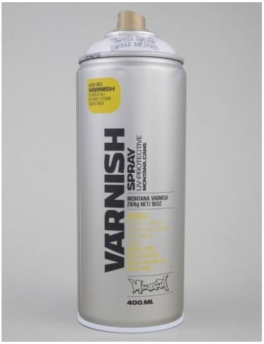 Montana Gold Semi Gloss Varnish Spray Can - 400ml