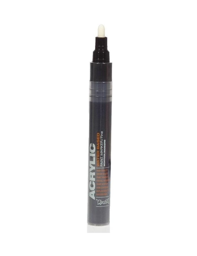Montana Gold Shock Black - 2mm Acrylic Paint Marker