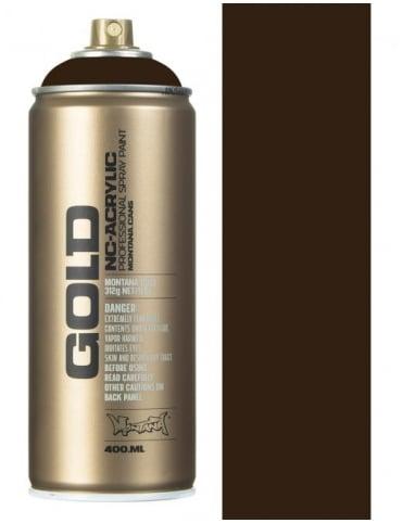 Montana Gold Shock Black Spray Paint - 400ml