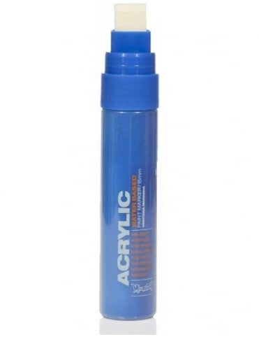 Montana Gold Shock Blue - 15mm Acrylic Paint Marker