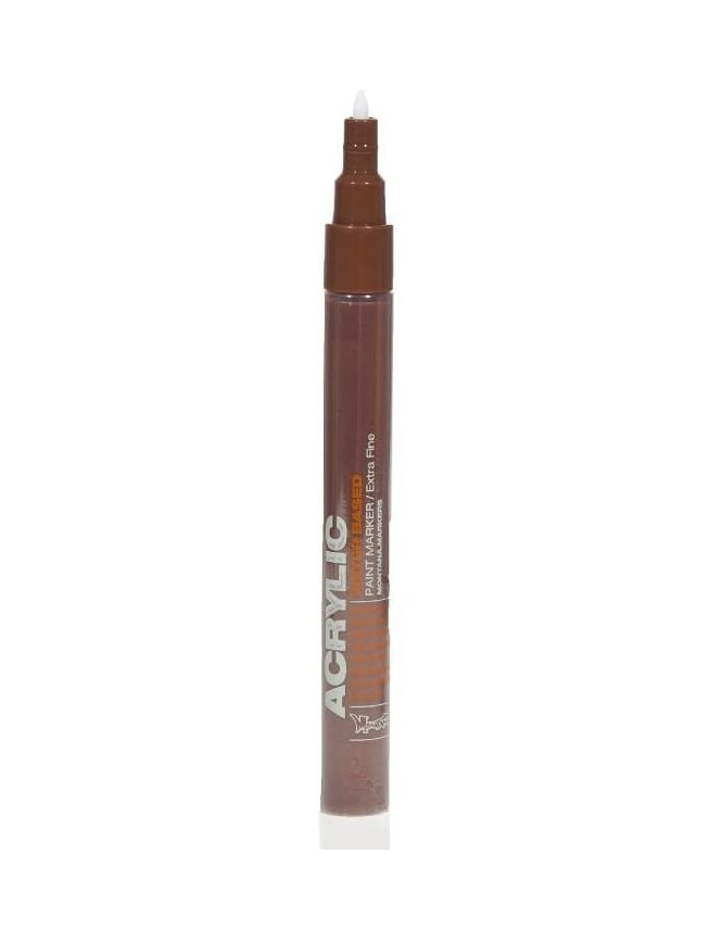 Montana Gold Shock Brown - 0.7mm Acrylic Paint Marker