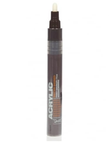 Montana Gold Shock Brown Dark - 2mm Acrylic Paint Marker
