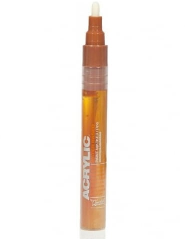 Montana Gold Shock Brown Light - 2mm Acrylic Paint Marker
