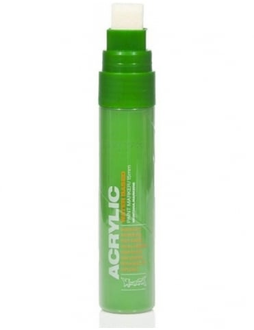 Montana Gold Shock Green - 15mm Acrylic Paint Marker