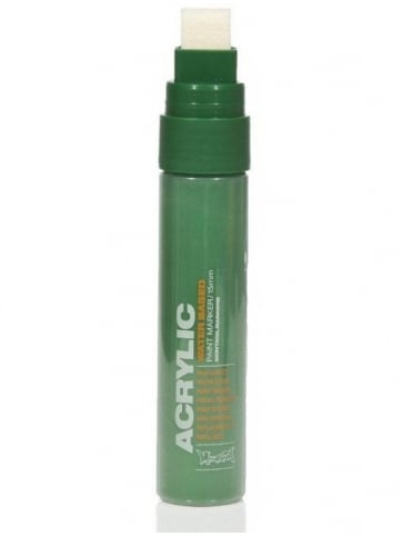 Montana Gold Shock Green Dark - 15mm Acrylic Paint Marker