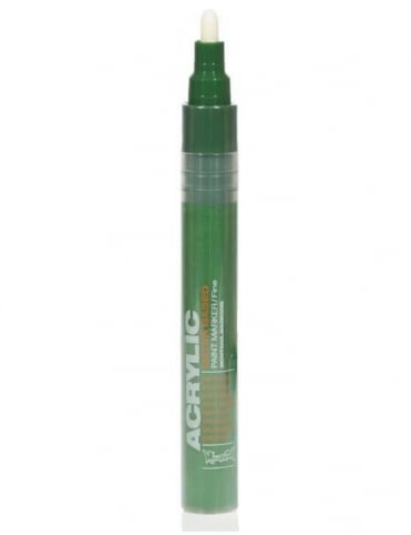 Montana Gold Shock Green Dark - 2mm Acrylic Paint Marker