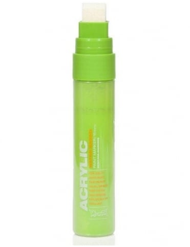 Montana Gold Shock Green Light - 15mm Acrylic Paint Marker