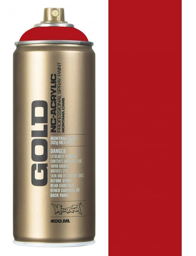 Montana Gold Shock Kent Blood Red Spray Paint - 400ml