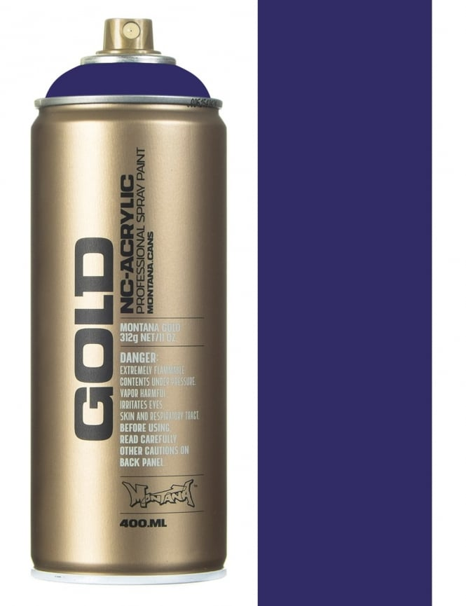 Montana Gold Shock Lilac Spray Paint - 400ml