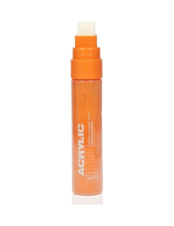 Montana Gold Shock Orange - 15mm Acrylic Paint Marker