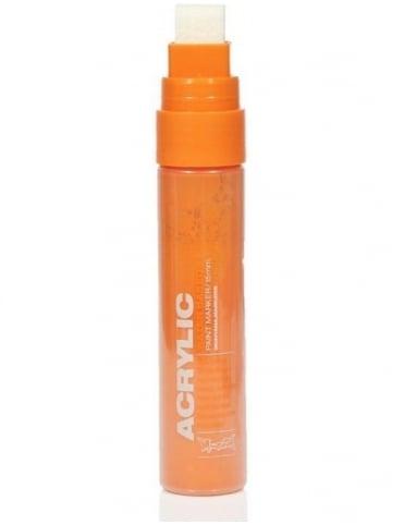 Montana Gold Shock Orange - 15mm Acrylic Paint Marker