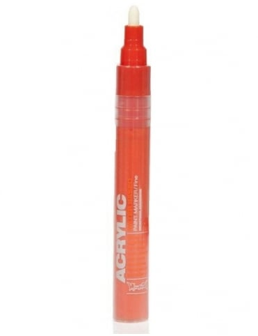 Shock Orange Dark - 2mm Acrylic Paint Marker