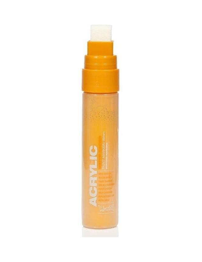 Montana Gold Shock Orange Light - 15mm Acrylic Paint Marker