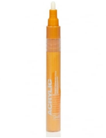 Shock Orange Light - 2mm Acrylic Paint Marker