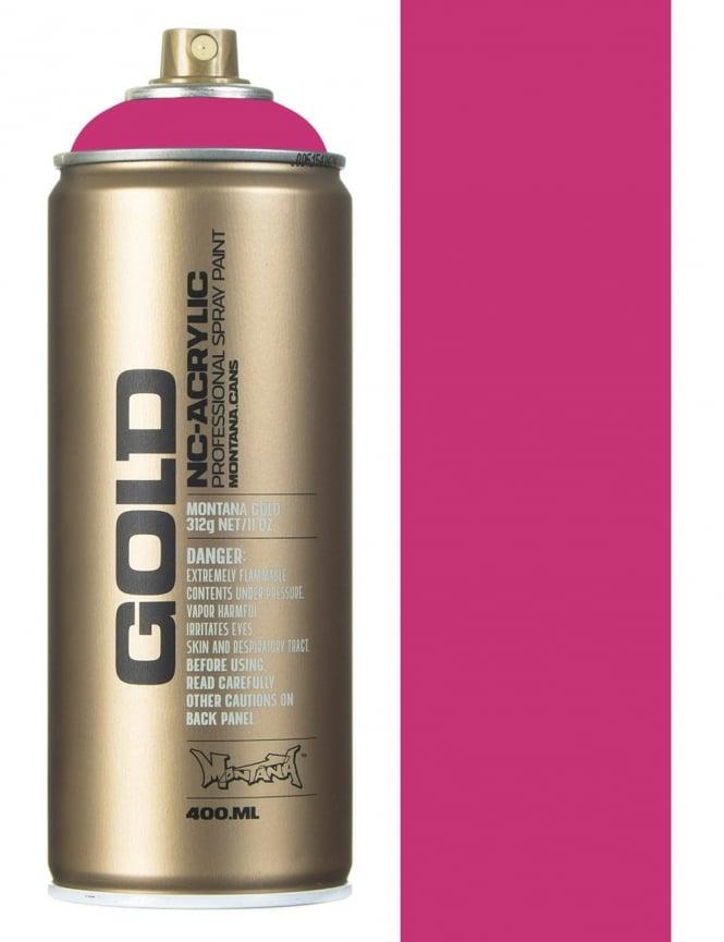 Montana Gold Shock Pink Spray Paint - 400ml