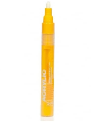 Montana Gold Shock Yellow - 2mm Acrylic Paint Marker