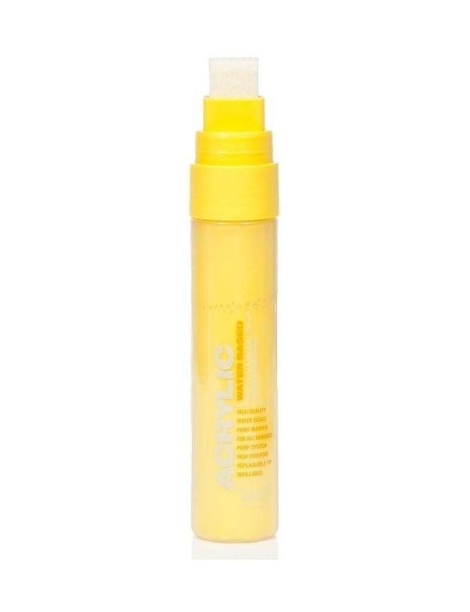 Montana Gold Shock Yellow Light - 15mm Acrylic Paint Marker