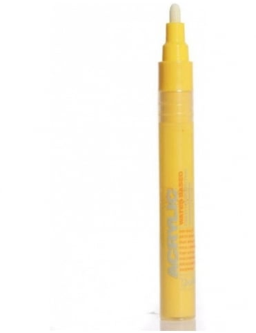Montana Gold Shock Yellow Light - 2mm Acrylic Paint Marker