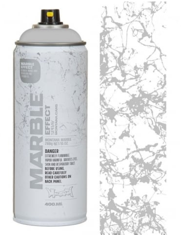 Silver Marble Effect Spray Paint - 400ml