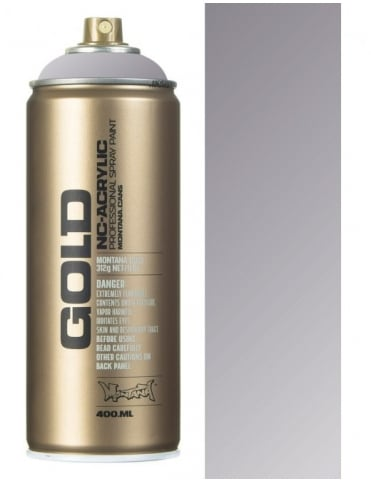 Montana Gold Silver Matt Spray Paint - 400ml