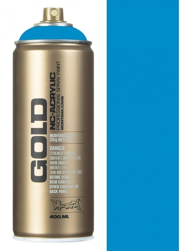 Montana Gold Sky Blue Spray Paint - 400ml