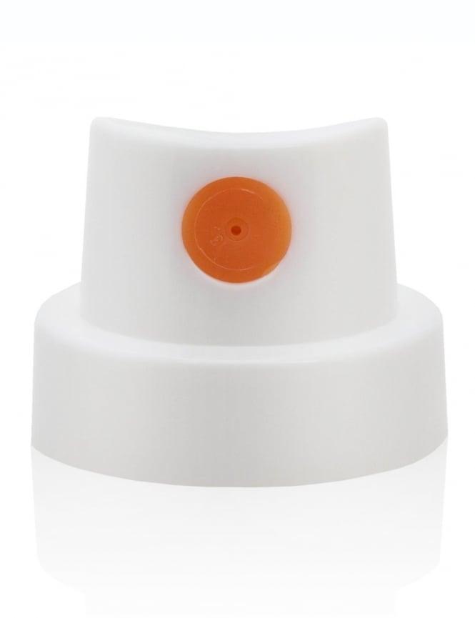 Montana Gold Spray Paint Fat Cap - Orange Dot