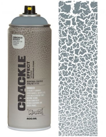 Squirrel Grey Crackle Effect Spray Paint - 400ml