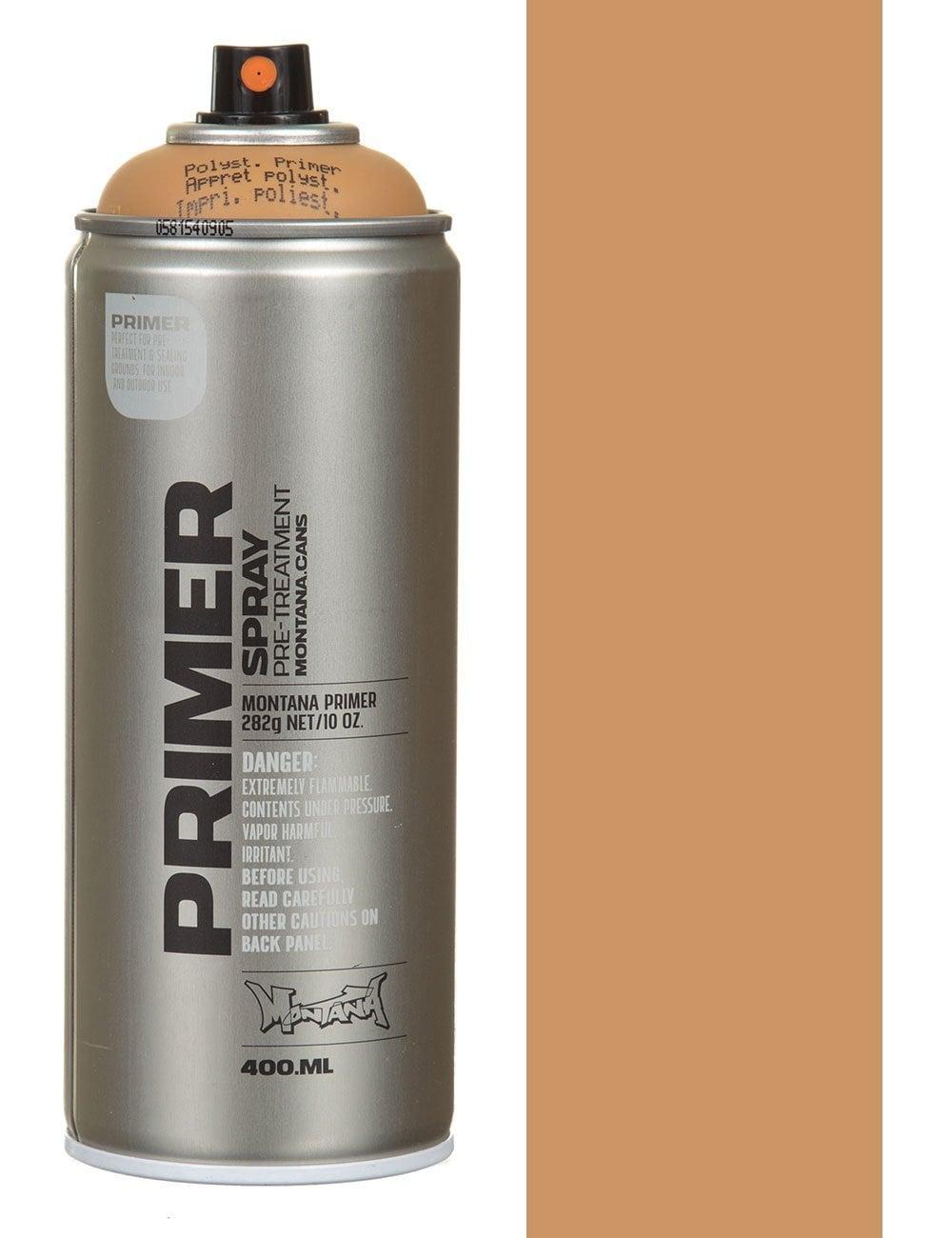 Montana Gold Styrofoam Primer Spray Paint 400ml Spray