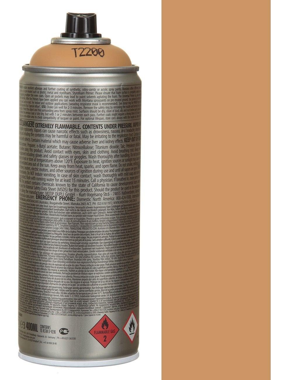 Montana Gold Styrofoam Primer Spray Paint 400ml