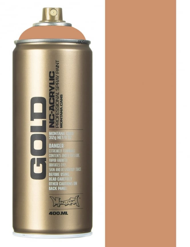 Montana Gold Toffee Spray Paint - 400ml