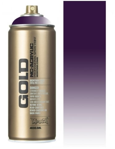 Transparent Black Purple Spray Paint - 400ml
