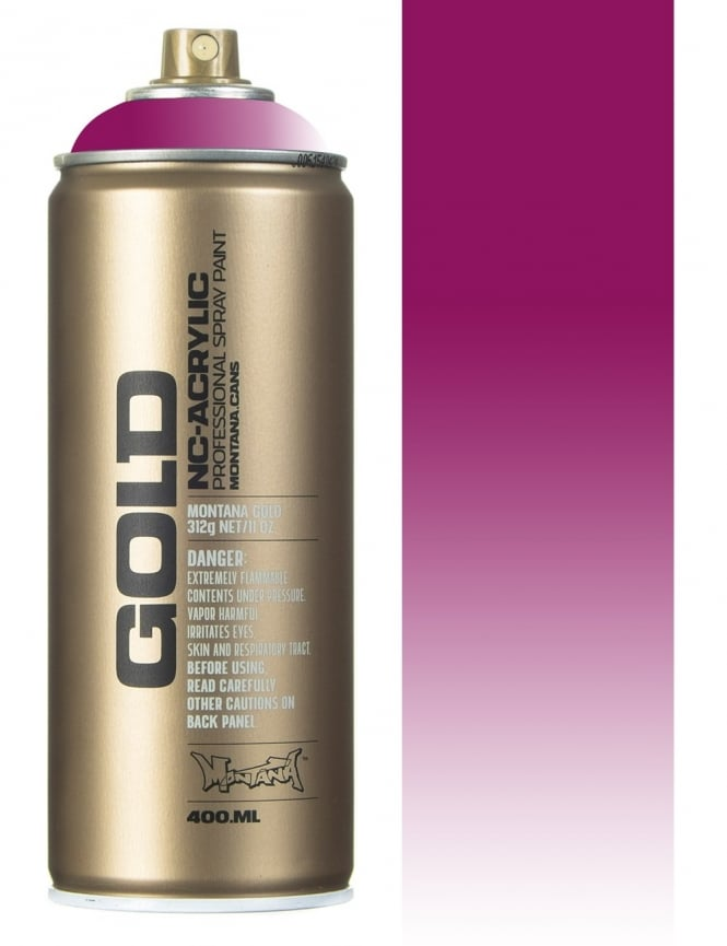 Montana Gold Transparent Cherry Blossom Spray Paint - 400ml