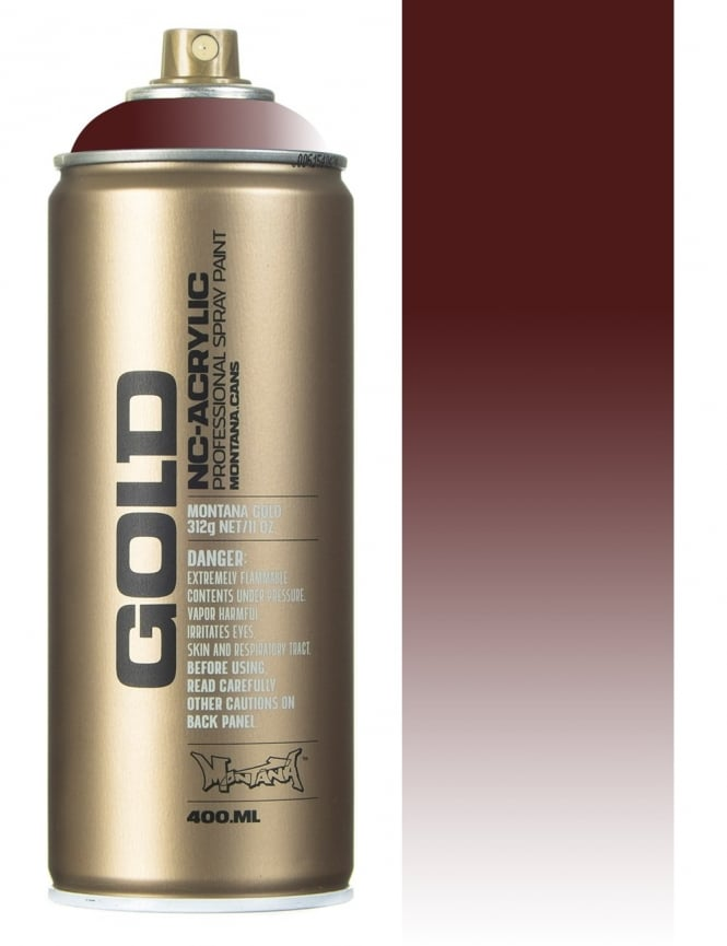 Montana Gold Transparent Chestnut Spray Paint - 400ml