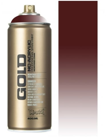 Montana Gold Transparent Chestnut Spray Paint - 400ml