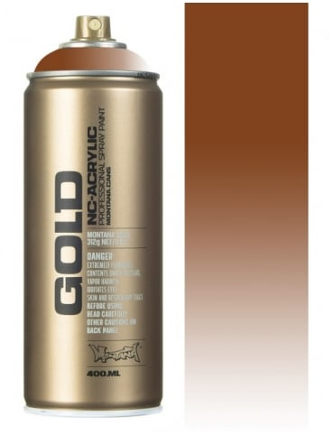 Montana Gold Transparent Hazelnut Spray Paint - 400ml