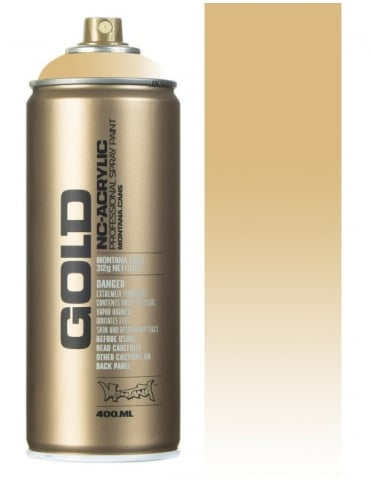 Montana Gold Transparent Sahara Beige Spray Paint - 400ml