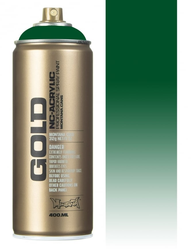 Montana Gold Transparent Smaragd Green Spray Paint - 400ml