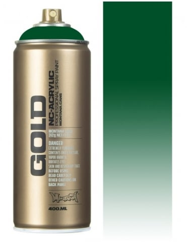 Montana Gold Transparent Smaragd Green Spray Paint - 400ml