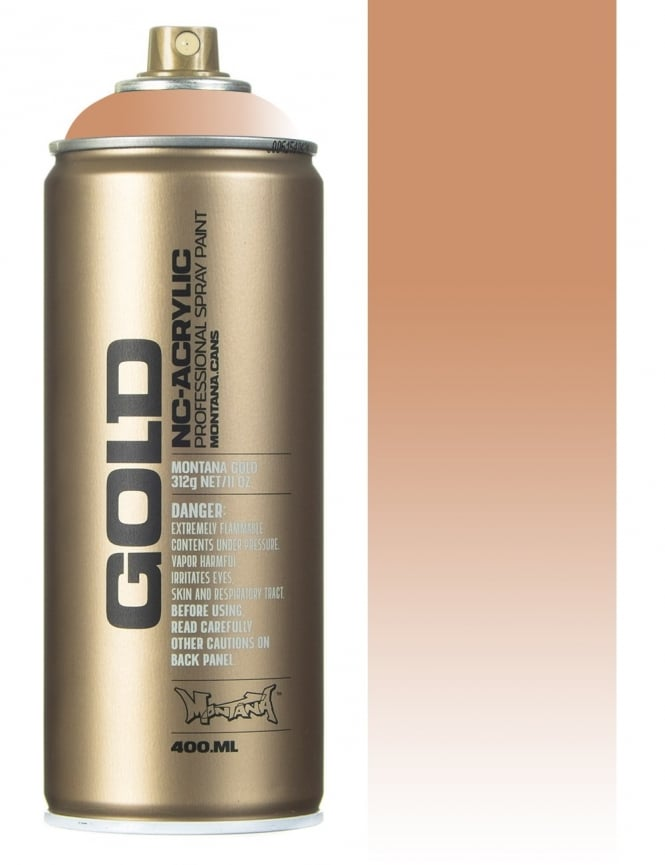 Montana Gold Transparent Toffee Spray Paint - 400ml