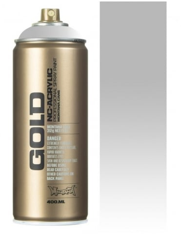 Montana Gold Transparent White Spray Paint - 400ml