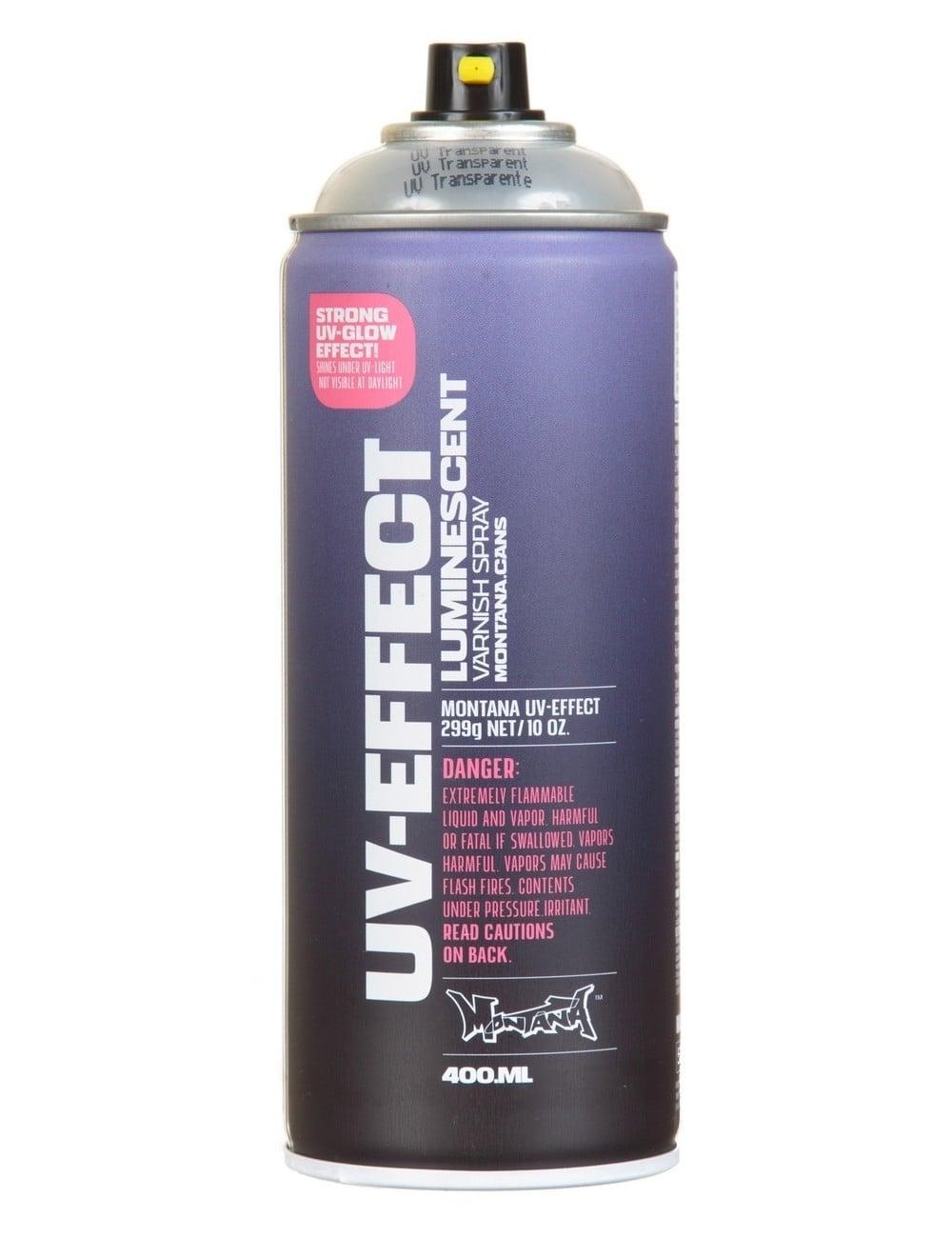 UV-Effect Transparent Spray Paint - 400ml