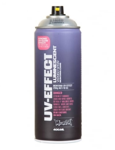 UV-Effect Transparent Spray Paint - 400ml
