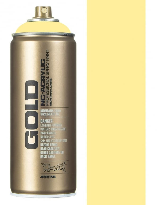 Montana Gold Vanilla Spray Paint - 400ml