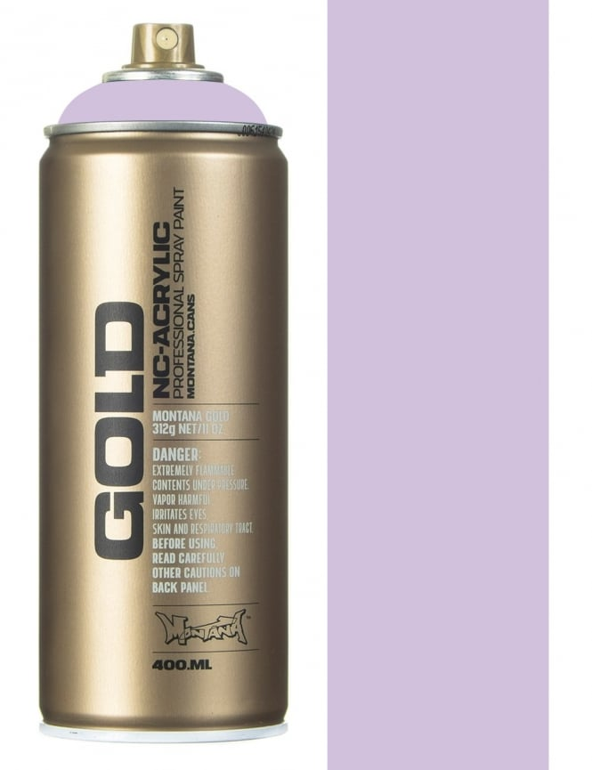 Montana Gold White Lilac Spray Paint - 400ml
