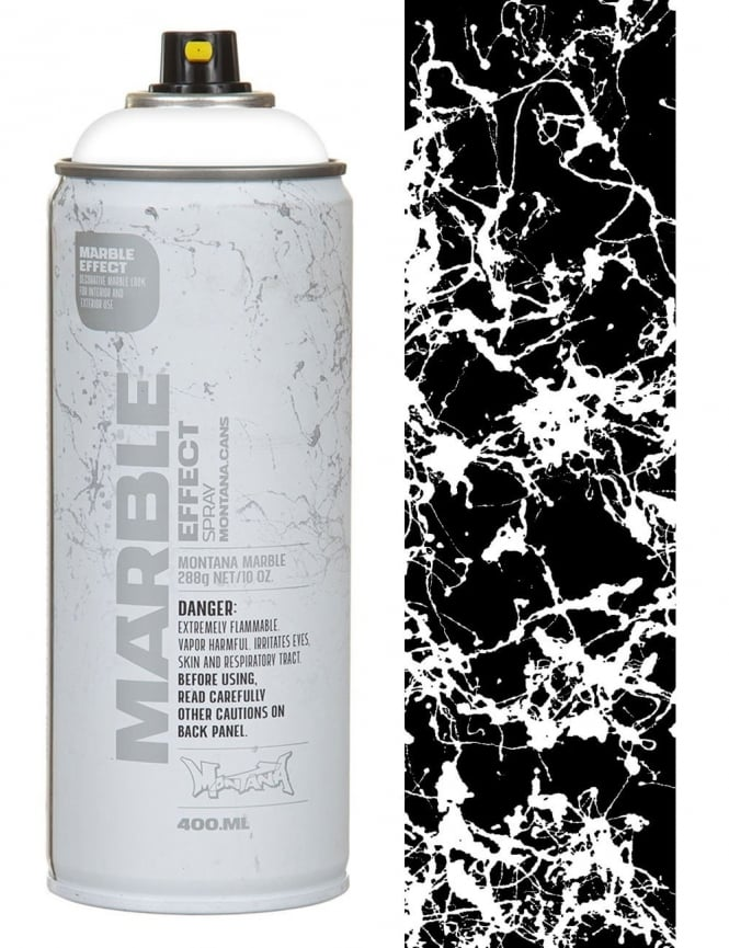 Montana Gold White Marble Effect Spray Paint - 400ml