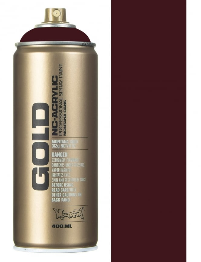 Montana Gold Wine Red Spray Paint - 400ml