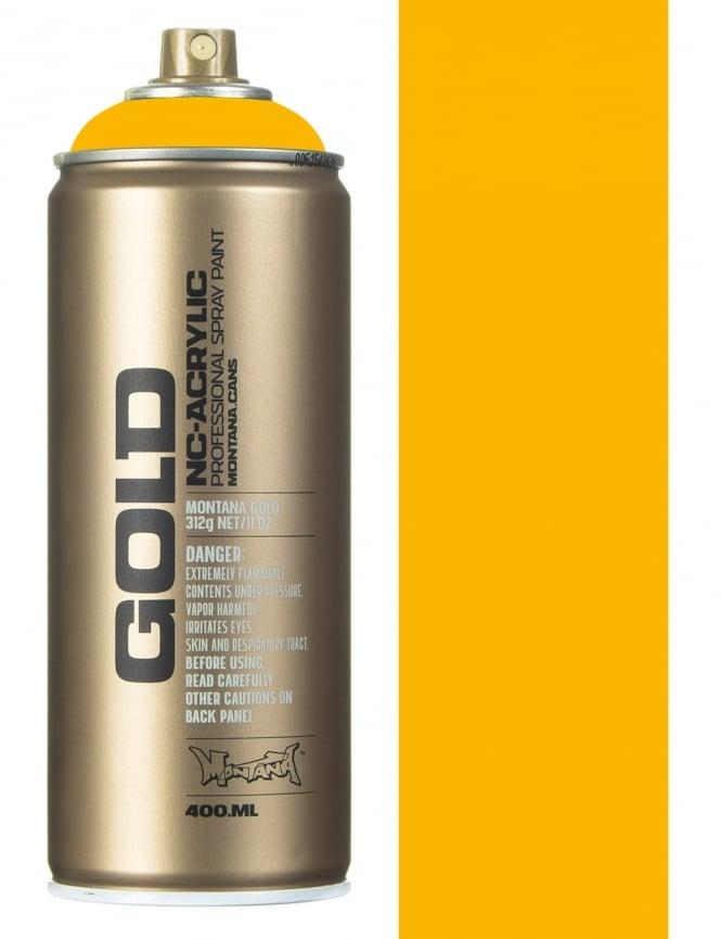 Montana Gold Yellow Cab Spray Paint - 400ml