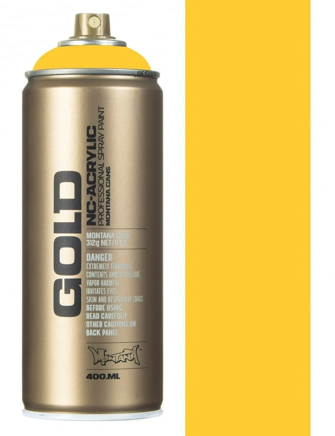 Montana Gold Yellow Submarine Spray Paint - 400ml