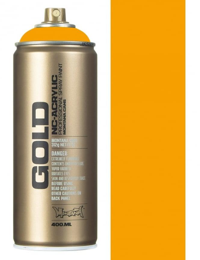 Montana Gold Yolk Spray Paint - 400ml