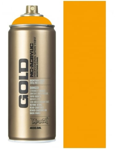 Montana Gold Yolk Spray Paint - 400ml